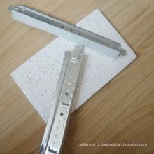 Grilles suspendues de barre de T de plafond dans 0.23mm pour le plafond