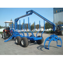 Wood Grapple with Trailer CE