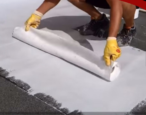 Spunbonded Nonwoven Fabric For Roof Waterproofing