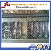 Machine à mailles métalliques hexagonales à haute qualité et à haute qualité