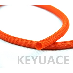 Hook Self Closing Braided Bungkus Sleeving