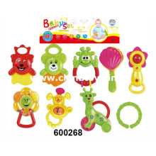 Lindo bebê brinquedos de alta qualidade plástico animal sino (600.268)