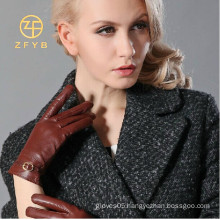New style bicycle cycling leather women XXL gloves with strap