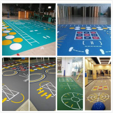 Ganas Multi-fungsi Gym Center PVC Function Floor