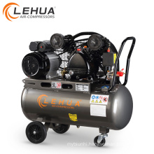 2hp 50l belt air compressor with 3 wheels