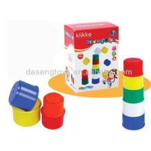 Niños educativos cubos apilables juguete