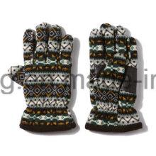 Печатные перчатки / Рукавицы с теплой полярной шерстью