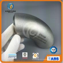 Encaixe de tubulação da solda de extremidade do cotovelo 90d Lr Wp304 / 304L com Ce (KT0319)
