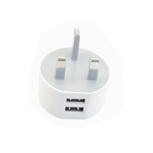 Free Sample USB Dual Charger UK Charger