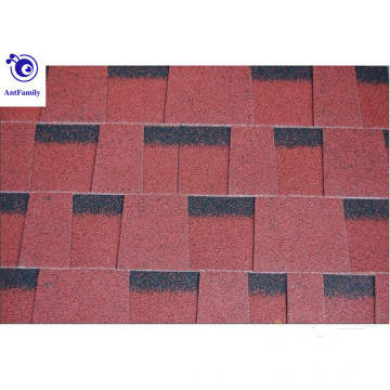 12 cores telhas de asfalto estilo duplo / materiais de construção