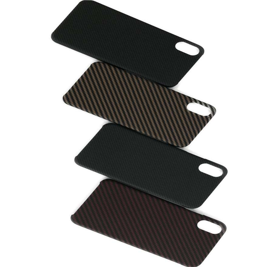Carbon Fiber Aramid Cell Phone Case