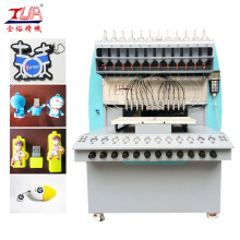 China for China Pvc Label Dispensing Machine, Pvc Badge Dispensing Machine, 8 Color Pvc Dispensing Machine, PVC Cup Coaster Dispensing Machine Manufacturer 12 Needles Pvc Usb Case Dropping Machine export to Poland Manufacturer