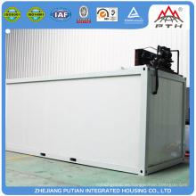 Fácil instalación moderna nevera refrigerada personalizada