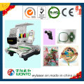 Commercial Embroidery Machine/Single Head Cap/Hat/Logo/T-Shirt Computerized Embroidery Machine Wy1201CS/Wy1501CS