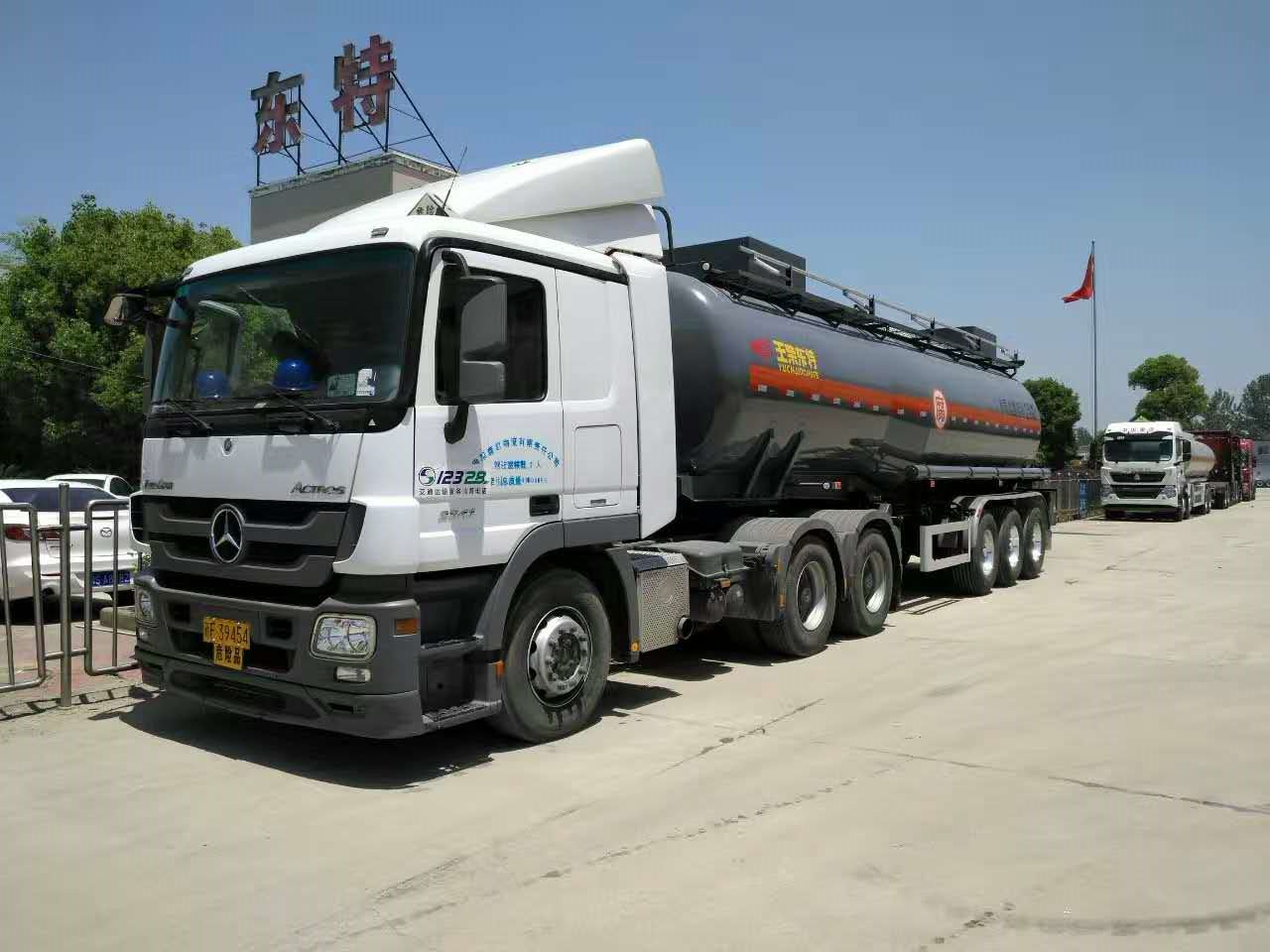 30,000 liters HCL tanker semi-trailer