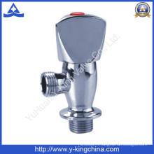 Vanne d'angle en laiton chromée (YD-5010)