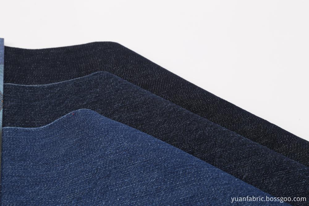190Woven Denim Spendex Slub Yarn Dyed Jeans Fabric
