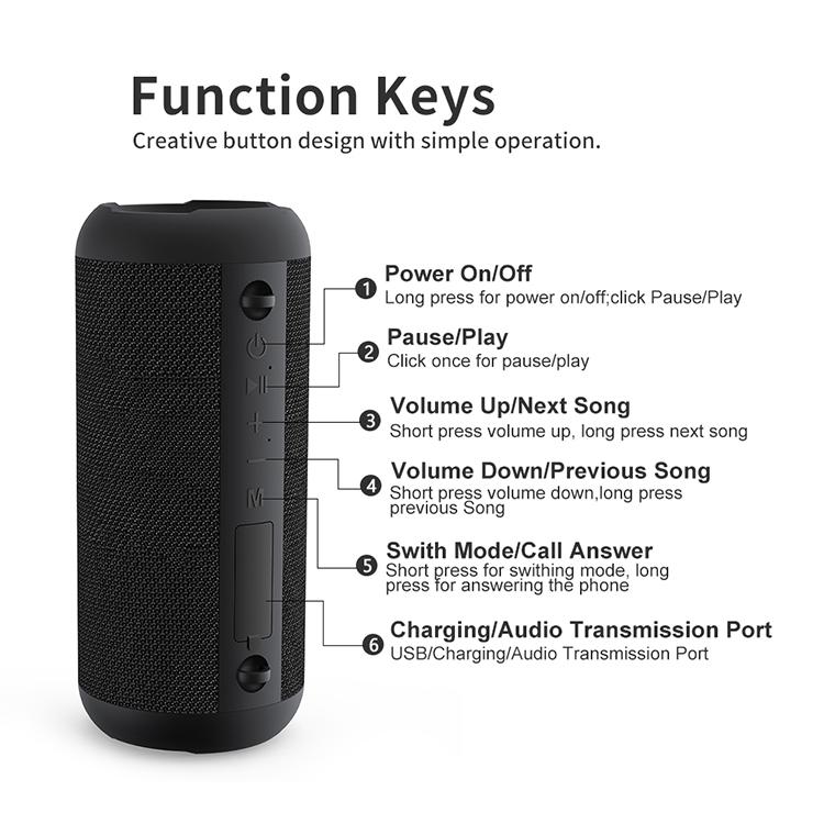 Bd18 Bluetooth Speaker 12
