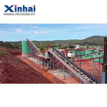 Equipamento de mineração do ouro do rio 10tph EPC CONTEÚDO DO PROJETO do equipamento de mineração do ouro do rio 10tph