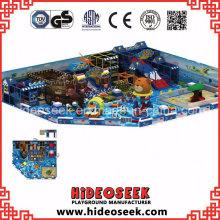 Ozean-Thema-Innenweiche Spielgeräte mit En1176