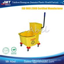 plástico do molde de balde espremedor de mop