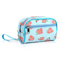 Small Broken Flower PU Cosmetic Bag