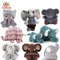 Wholesale Cheap Soft Cartoon Elephant Doll Names Cute Plush Musical Animal Stuffed Elephant Toy With Big Ears