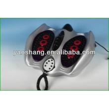Masaje de pies de los puntos de presión de acupuntura electrónica