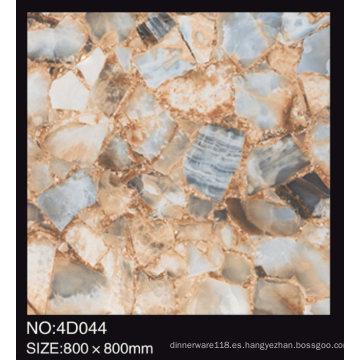 Azulejo de piso de alta calidad de la porcelana de la superficie antideslizante 60X60 China áspero