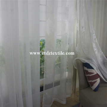 Polyester Sheer Voile Curtain Fabric