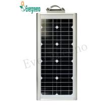 Éclairage solaire intégré de réverbère de réverbère de LED LED