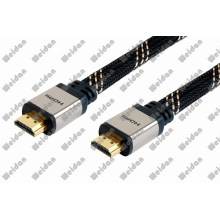 Professional Made Metal Plug HD TV Flat HDMI Cable