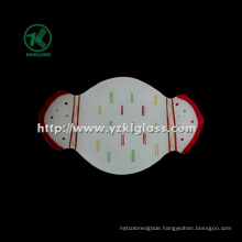 Single Wall Color Glass Plate by SGS (KLP120912-69)