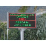 SkyMax P20 wireless outdoor entrance message led display