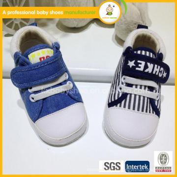 Оптовые ботинки moccasins мальчика младенца высокого качества
