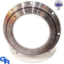Dente de engrenagem interno Dobro-rolamento da esfera Roaring, equipamento pesado Rolamentos de giro