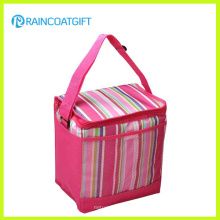 Bolsa de refrigerador de picnic aislada al aire libre con bolsillo frontal de malla Rbc-080A