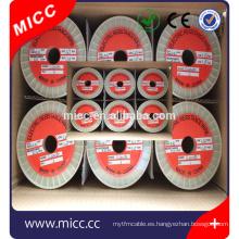 Fe-Cr-Al ni80cr20 cables eléctricos de calefacción y cintas