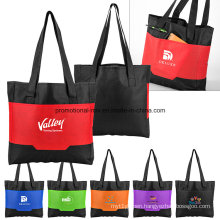 Pocket Polyester Tote for Promotion