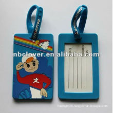 hot-selling rubber luggage tags