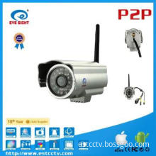 Bullet IR Camera, Outdoor P2P Waterproof UPNP Wireless IP Camera