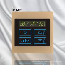 Interruptor táctil del termóstato del acondicionador de aire en el marco de acrílico (SK-AC100T)