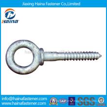 Carbon steel HDG Galvanised wood eye screw