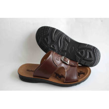 Classic Style Men Beach Sandal with Action Leather Upper (SNB-14-003)