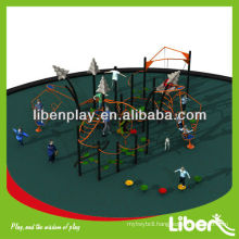 Fitness Cluster Series nice design outdoor playground equipment LE.NT.003 for amusement park with certificates
