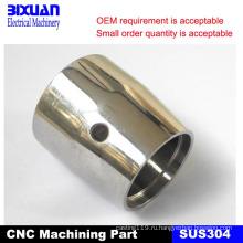 Части CNC подвергая механической обработке, подвергая механической обработке