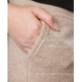Ladies casual knitted 100% cashmere track pants