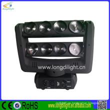 China supplier 8 * 10W RGBW 4in1 llevó la luz principal móvil de la mariposa