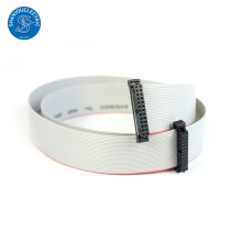 IDC type plat 1.27mm plat ruban câble assy avec 2.54mm connecteur