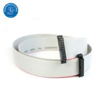 Tipo IDC Assalto liso do cabo de fita do passo de 1.27mm com o conector de 2.54mm